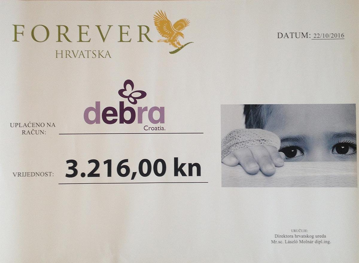 Debra forever living