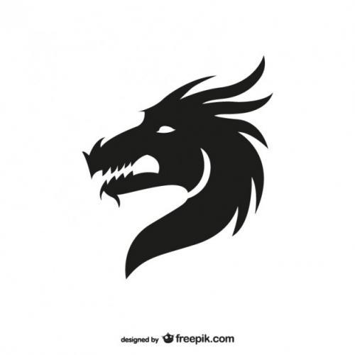 dragon-head-silhouette 23-2147498243